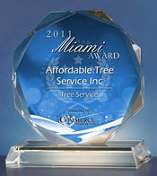 About Affordable Tree Service Award